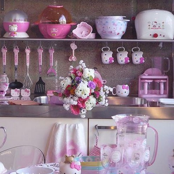 Hello kitty kitchen set home decor and interior design - Home decorated set ...