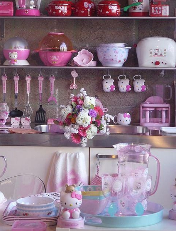 Cute Kitchen Sets With Hello Kitty Themes