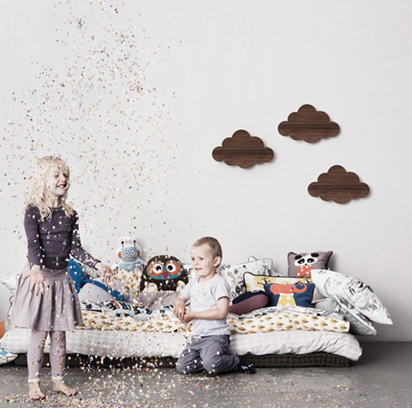 Gallery of Kids Wall Lights with Creative Wooden Themes