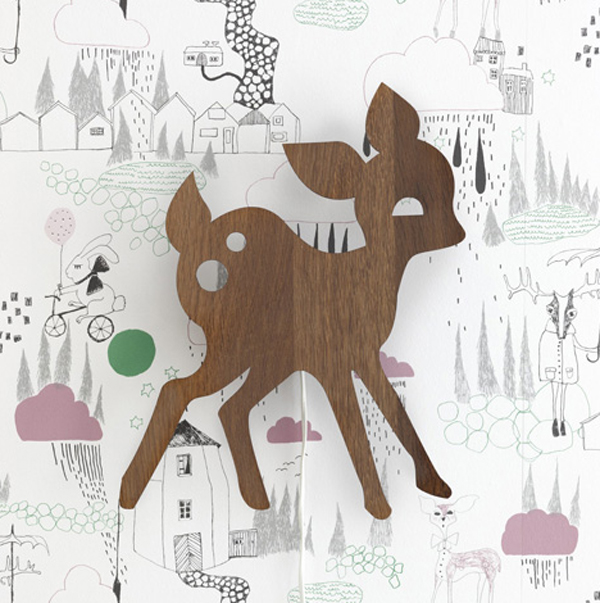 kids-wall-lamps-with-wooden-deer-themes