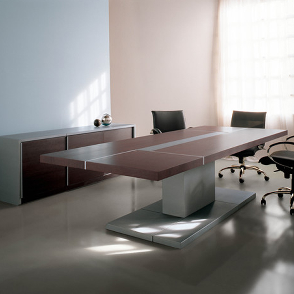 Office table designs by estudi arola for Table design for office