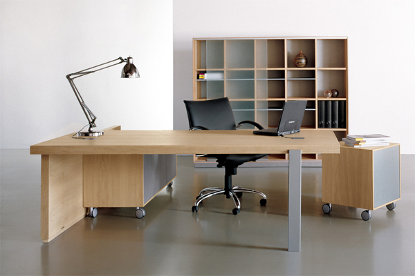 Office table desk furniture by estudi arola - Home office desk furniture sets ...