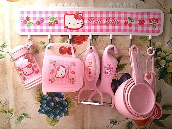 Are You A Fan Of Cartoons Helllo Kitty Hello Kitty Figure Is Always Identical With The Color Pink And Its Adorable So We Want To Kitchen D Cor With Hello