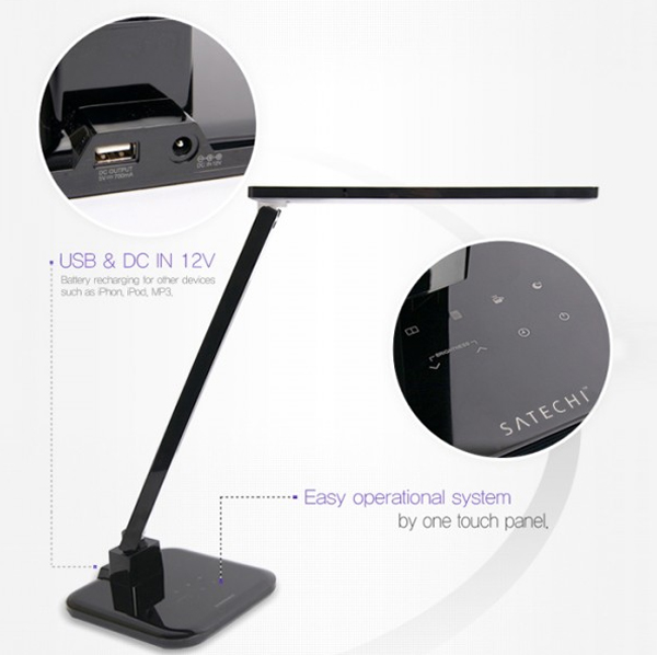 Satechi LED Desk Lamps with Touch Control