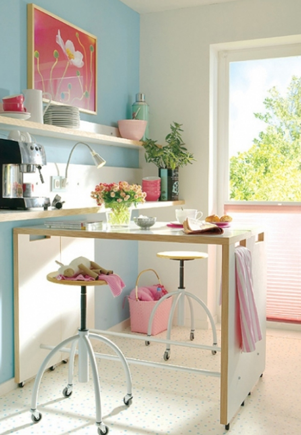 Small kitchen furniture with storage solutions for Small kitchen solutions design