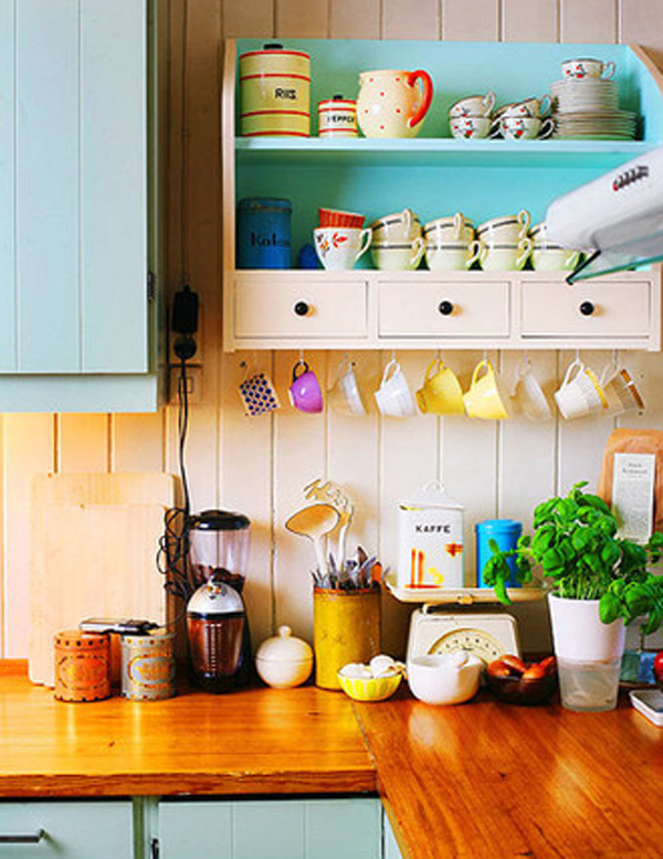 Small kitchen storage racks for Small kitchen solutions design