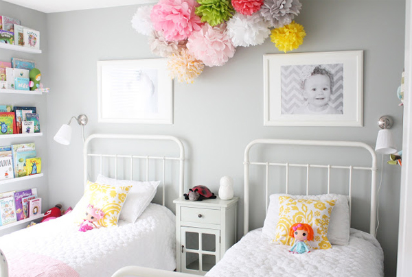 stylish girl room inspiration with two beds home design and interiorinitially girl\u0027s room serves for baby\u0027s room with a mix of old and new styles, but we\u0027ve seen them grow up so we decided to completely change room design