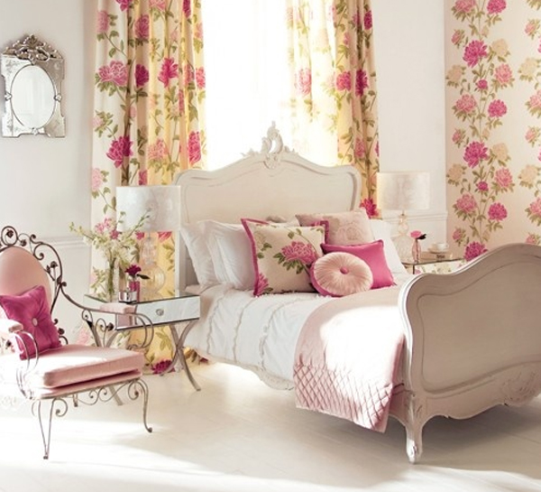 top-15-roamntic-bedroom-with-flower-decor