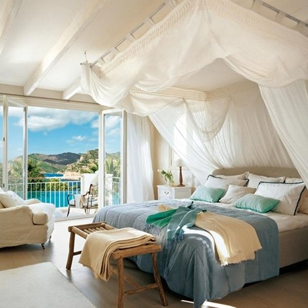 Top 15 romantic bedrooms for wedding for Bed decoration for honeymoon