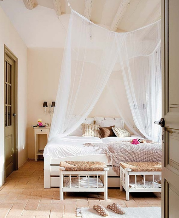Top 15 romantic bedroom with rustic ideas for Rustic romantic bedroom