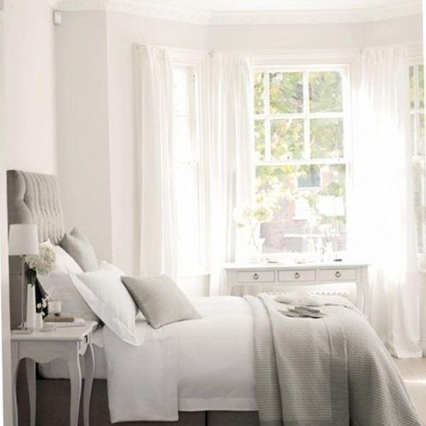 white bedroom decorating. beautiful ideas. Home Design Ideas