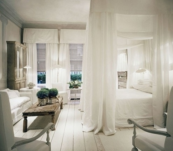 Top 15 romantic white bedroom design for wedding for House interior design romantic bedroom