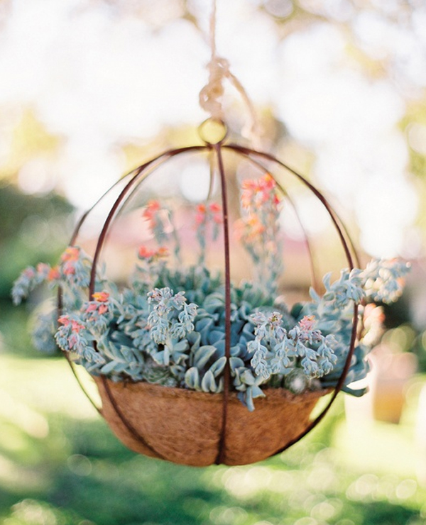 15 wedding garden decorations with flower themes home design and interior - Fabulous flower stand ideas to display your plants look more beautiful ...