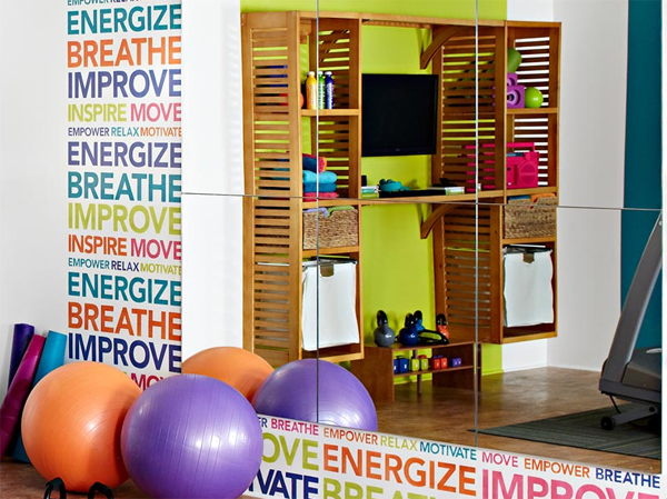 Best collection of wonderful home gym ideas home design for Best home gym design ideas