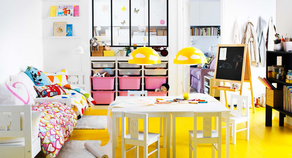 ikea kids playroom ideas. Black Bedroom Furniture Sets. Home Design Ideas