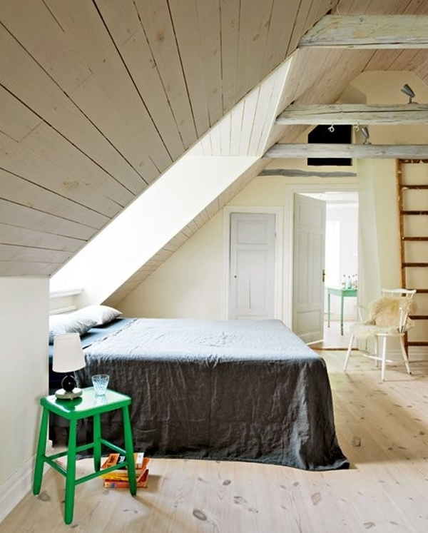 attic-bedroom-design-with-scandinavian-style