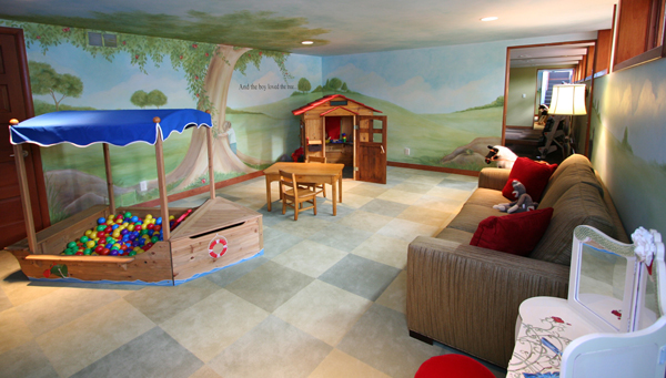 awesome kid playroom decor 35 Awesome Kids Playroom Ideas