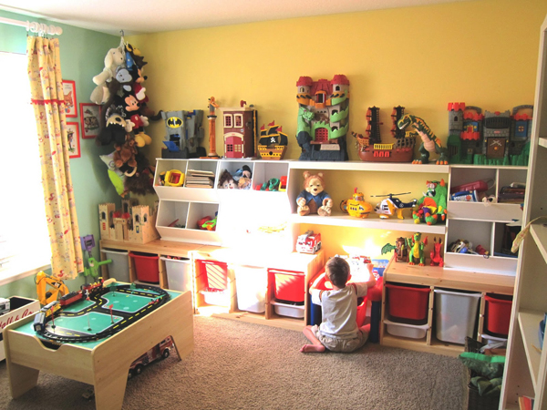 Childrens Play Room Entrancing 35 Awesome Kids Playroom Ideas  Home Design And Interior Decorating Inspiration