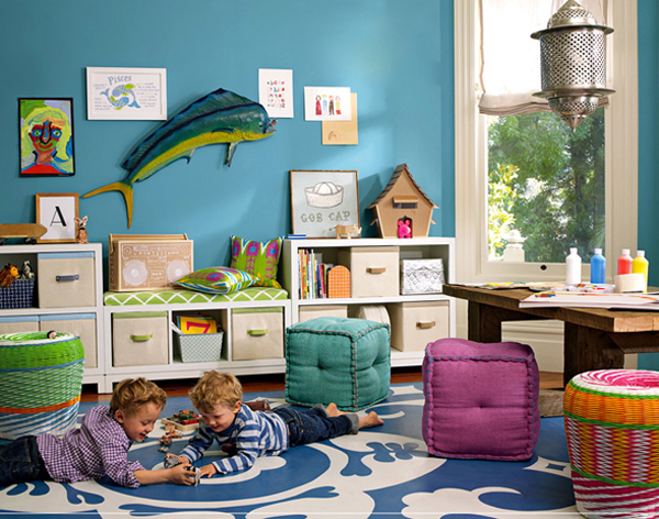 awesome kids playroom ideas 35 Awesome Kids Playroom Ideas