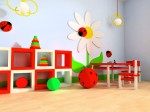 awesome-playroom-ideas-with-flower-themes