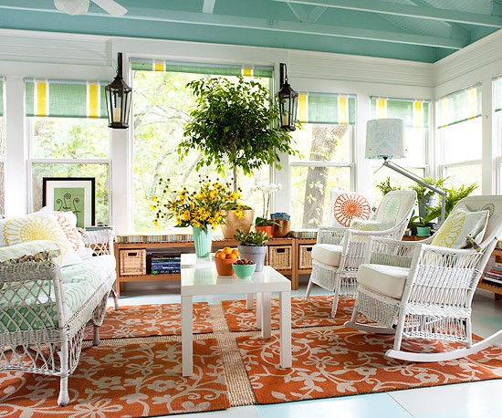 awesome-sunroom-design-with-flower