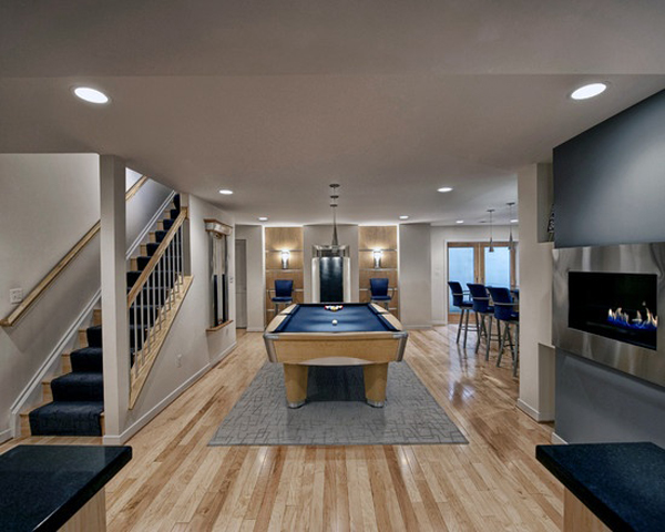 Basement Remodeling Design