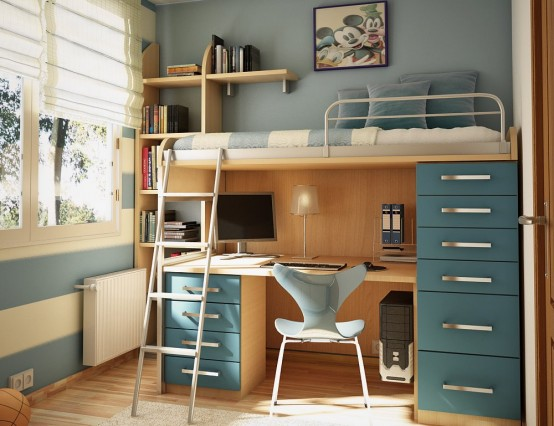 blue-teen-bedroom-design