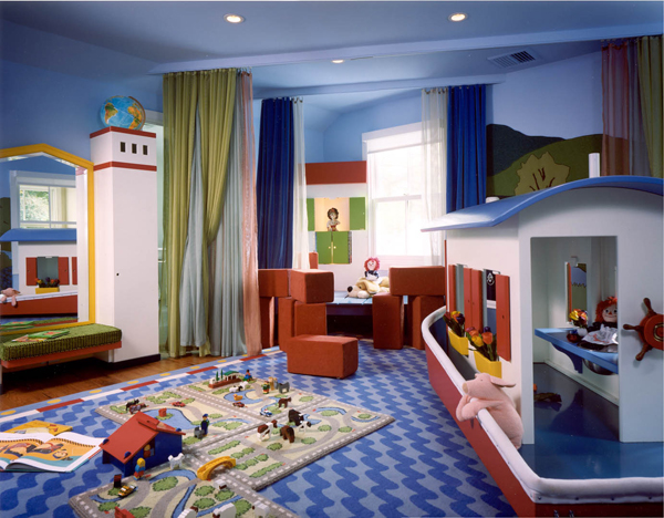 boat playroom ideas 35 Awesome Kids Playroom Ideas