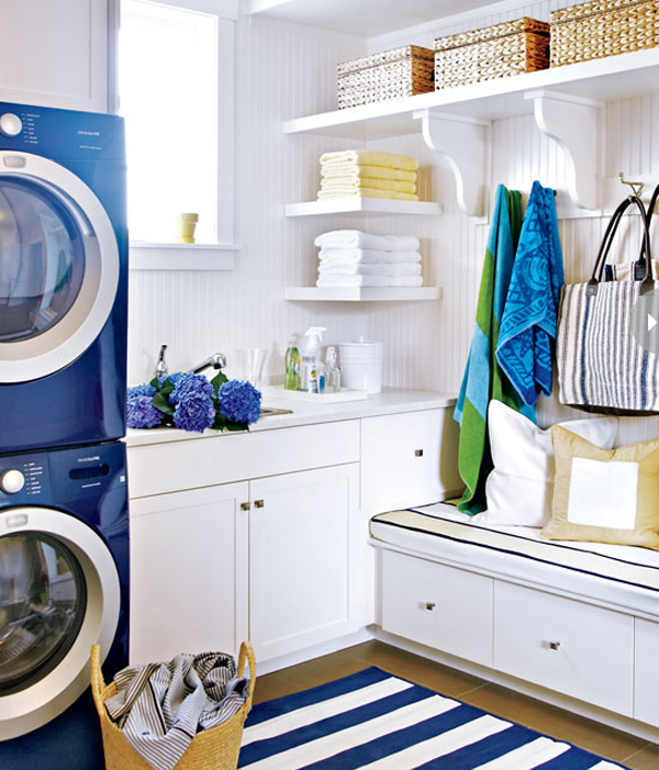Inspiring Bright Laundry Room Designs Home Design And