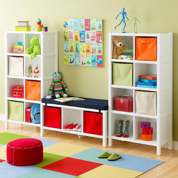 child playroom with storage space 35 Awesome Kids Playroom Ideas