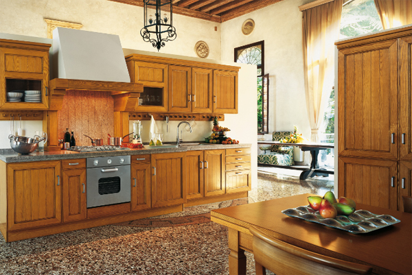 classic-kitchen-with-wood-furniture