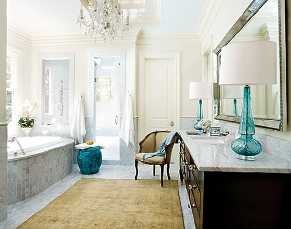 Classic pretty bathroom decorations for Pretty bathroom decorating ideas