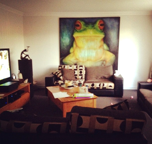Frog Wall Interior Painting Ideas