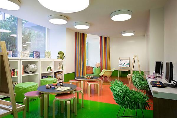 green kids playroom ideas 35 Awesome Kids Playroom Ideas