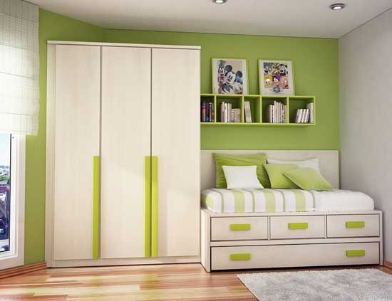 green-teen-bedroom-ideas