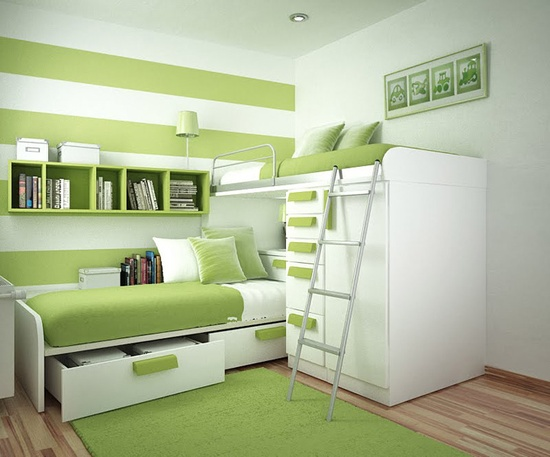 Green Teen Room Ideas
