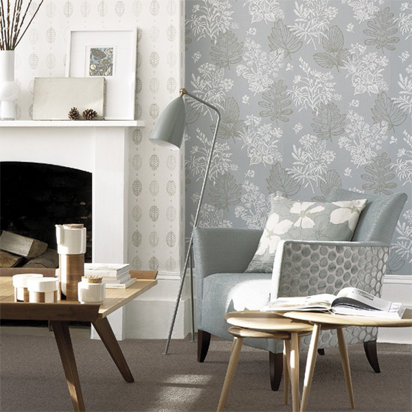 Grey pastel living room decorating for Living room ideas in grey