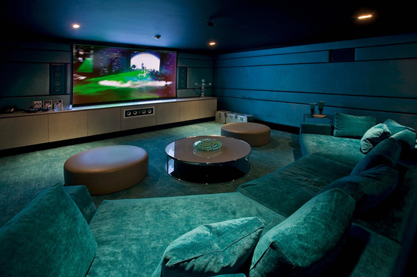 Home theater basement ideas for Basement home theater plans