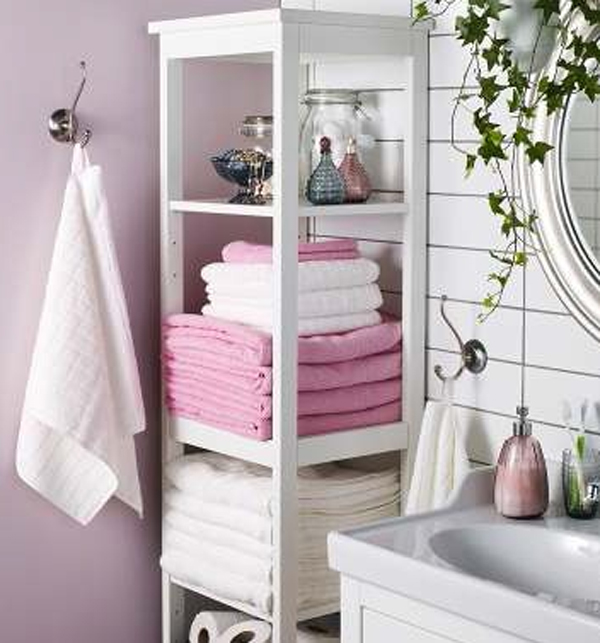 Ikea bathroom storage ideas 2013 Towel storage ideas ikea