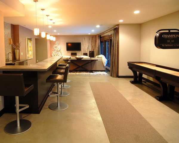 Inspiring basement finishing decor for House finishing