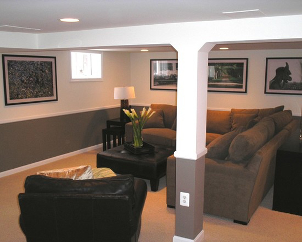 Basement Living Rooms Design inspiring-living-room-basement-ideas