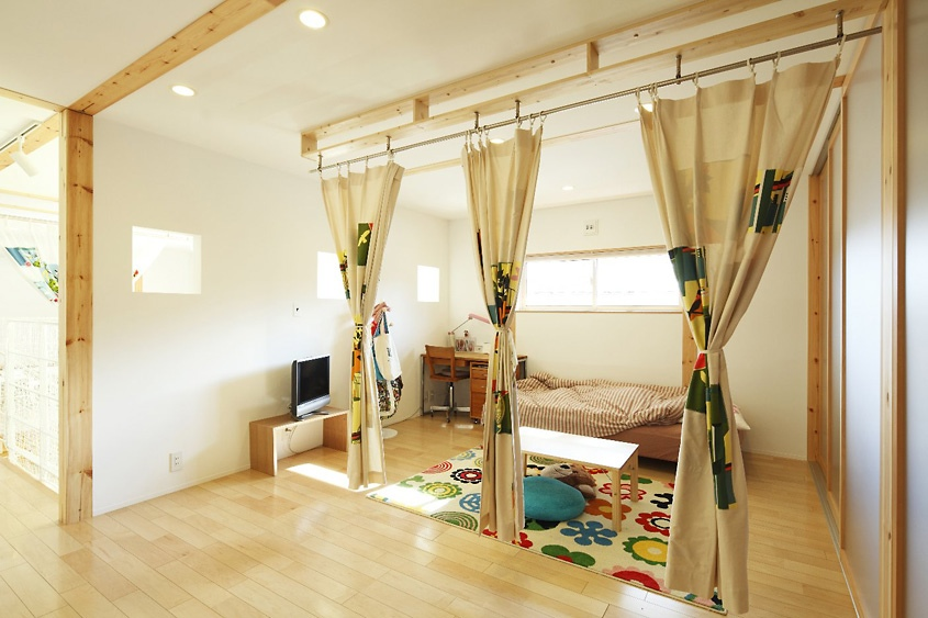 Modern Playroom Curtains