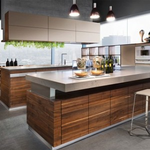 Nice Gallery Of K7 Wood Kitchen Ideas : Modern For Open Living Areas Part 27