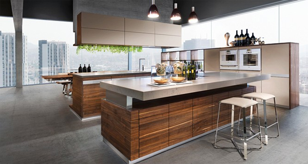 modern oak kitchen design. 20 cool modern wooden kitchen designs20