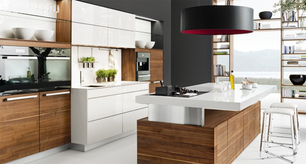 K7 wood kitchen ideas modern for open living areas home design and interior Wood kitchen design gallery