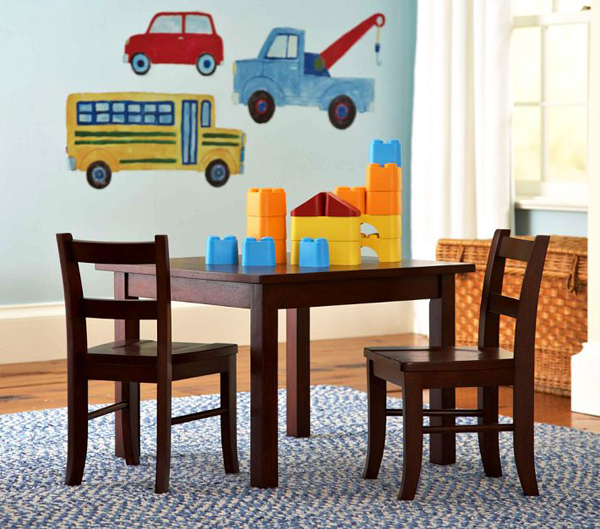 Kids Activity Table And Chair