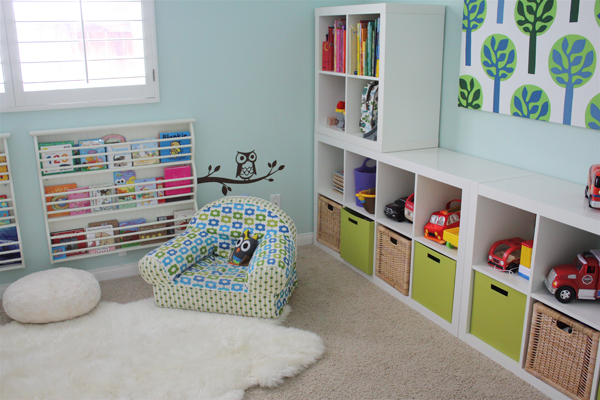 Awesome Modern Kids Bedroom With Cool Color