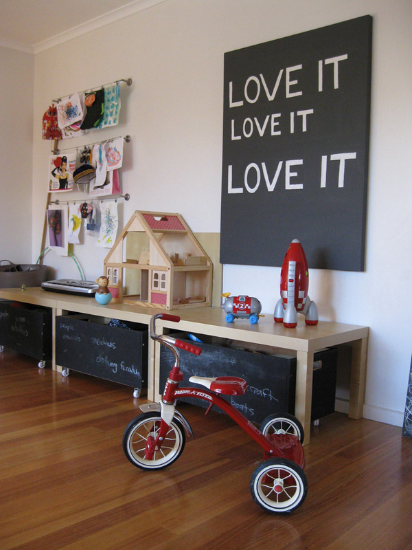 kids playroom ideas with chalkboard 35 Awesome Kids Playroom Ideas