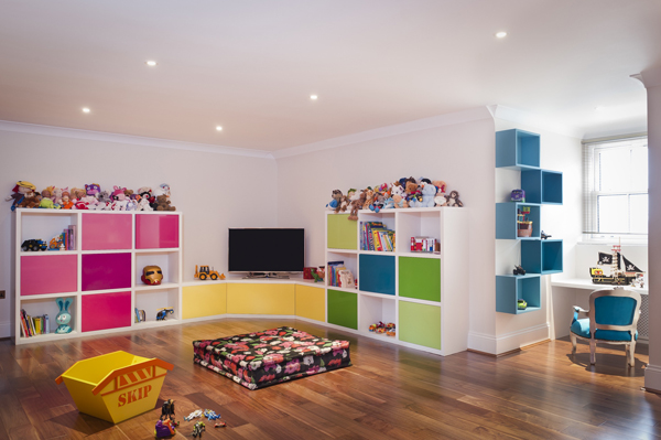 Merveilleux Kids Playroom Storage