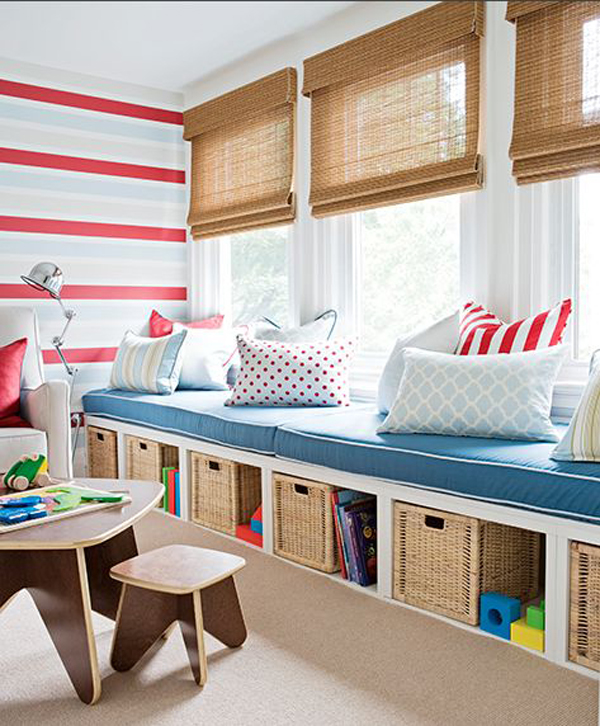 Kids Playroom With Sofas